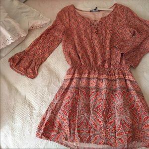 Sanctuary Marrakech print blouson dress size xs